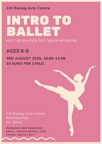 CR Ballet Workshop Poster