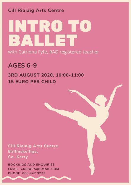 CR Ballet Workshop Poster